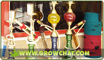 Different Marijuana Hookahs For A Unique Way Of Smoking Cannabis